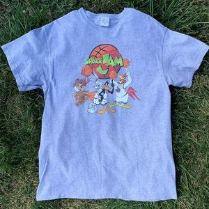 Space Jam Looney Tunes Gang Graphic T-Shirt